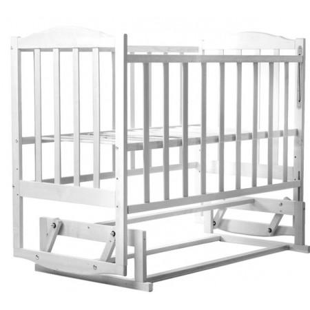 Кровать Babyroom Зайчонок Z201 маятник  белая