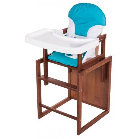 Стульчик- трансформер For Kids Бук-04 темный пластиковая столешница  голубой