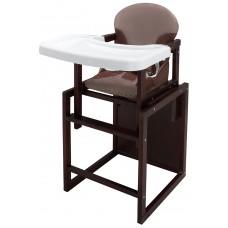 Стульчик- трансформер Babyroom Пони-220 тонированный пластиковая столешница  капучино-шоколад