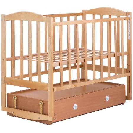 Кровать Babyroom Зайчонок Z304 маятник, ящик  лакированная