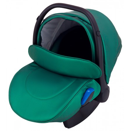 Автокресло Adamex Kite кожа 100% Y216 зеленый перламутр