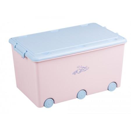 Ящик для игрушек Tega Little Bunnies KR-010 104 light pink
