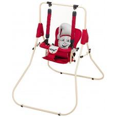 Качель Babyroom Casper  красный-св.серый