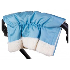 Муфта Умка M02 для рук на коляску  голубой