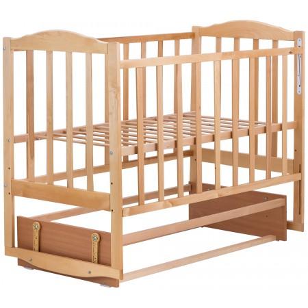 Кровать Babyroom Зайчонок Z204 маятник  лакированная