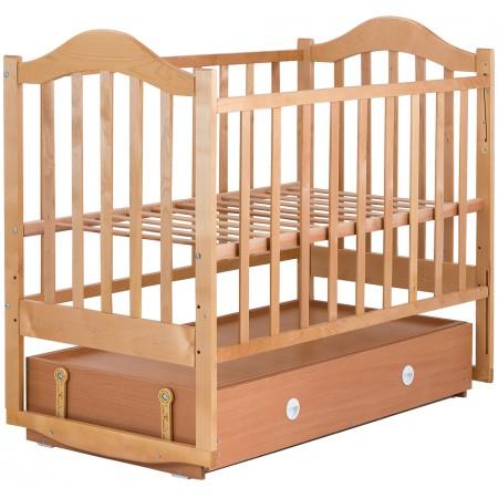 Кровать Babyroom Дина D304 маятник, ящик  лакированная