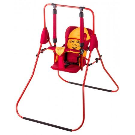 Качель Умка Casper  красный-желтый