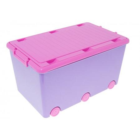 Ящик для игрушек Tega Hamster IK-008 128 dark violet