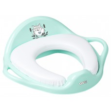Накладка на унитаз Tega Little Fox (Plus Baby) PB-LIS-020 мягкая 105 light green