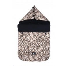 Универсальный конверт в коляску и автокресло Cottonmoose Pooh 330/79/109 pantera cotton black cotton jersey (леопардовый с черным)