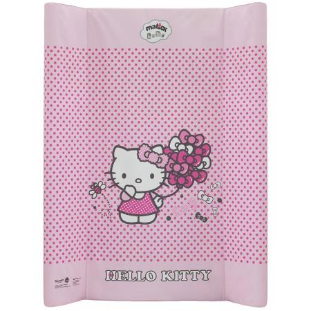 Пеленальная доска Maltex жесткий 50х80 см  hello kitty, розовый