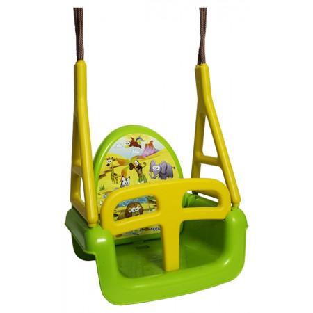 Качель модульная 3в1 Tega TG-184 125 green-yellow