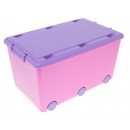 Ящик для игрушек Tega Hamster IK-008 127 dark pink