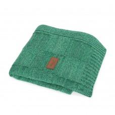 Вязанный плед Ceba Baby Krata 90х90 см  зеленый