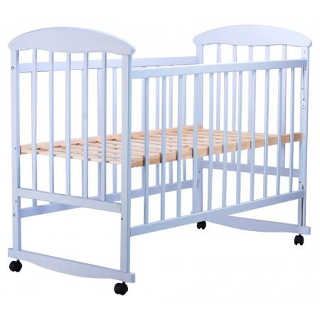 Кровать Наталка ОГ  ольха голубая