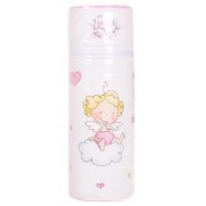 Термоконтейнер Ceba Baby Standard 63*63*225мм Little Angel  белый-розовый (ангелочек)