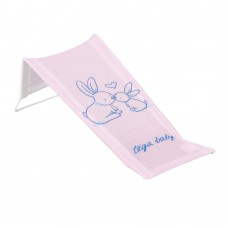 Горка для купания Tega Little Bunnies KR-026 (сетка) 104 light pink