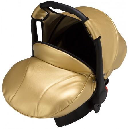 Автокресло Bair Carlo кожа 100% CP-38 золотой перламутр