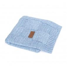 Вязанный плед Ceba Baby Krata 90х90 см  синий