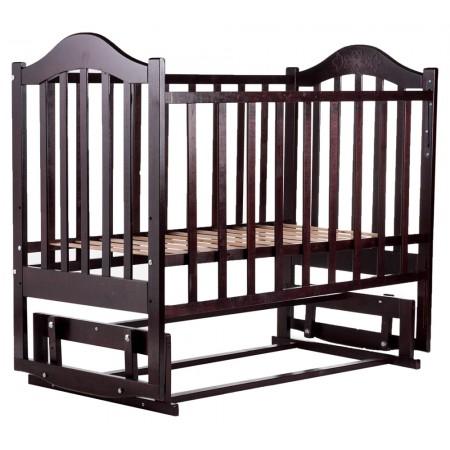 Кровать Babyroom Дина D203 маятник  венге