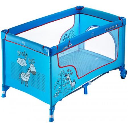 Манеж-кровать Quatro Giraffe P610SR blue