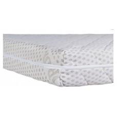 Матрас Солодких Снів Organic Cotton Comfort Premium - 12 см. (кокос, полиуретан, кокос)  белый