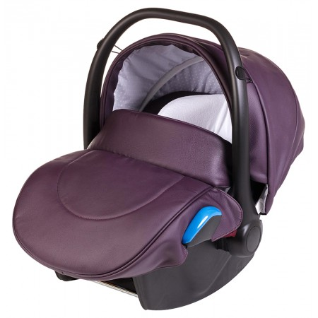 Автокресло Adamex Kite кожа 100% 51S фиолетовый