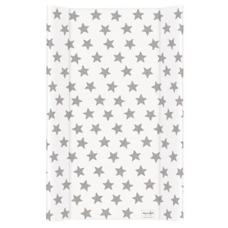 Пеленальный матрас Ceba Baby Day and Night 50х80 см  звезды
