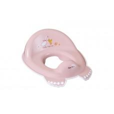 Накладка на унитаз Tega Forest Fairytale FF-002 нескользящая 107 light pink