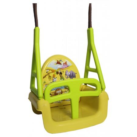Качель модульная 3в1 Tega TG-184 124 yellow-green