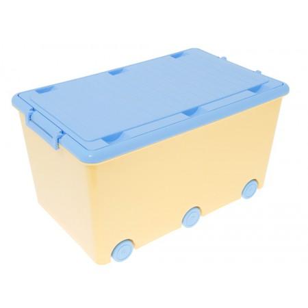 Ящик для игрушек Tega Hamster IK-008 124 yellow